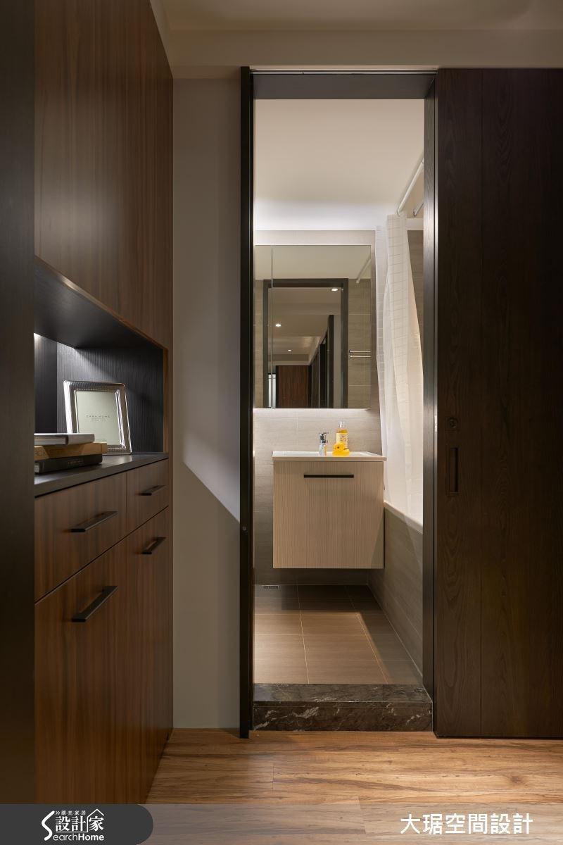 32坪老屋(16~30年)_現代風浴室走廊案例圖片_大琚空間設計_大琚_18之1