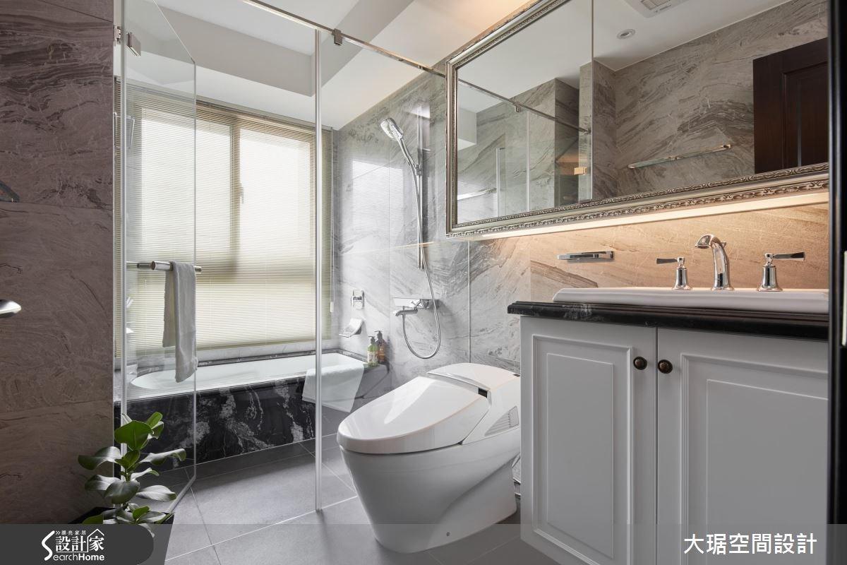 38坪新成屋(5年以下)_新古典浴室案例圖片_大琚空間設計_大琚_19之11