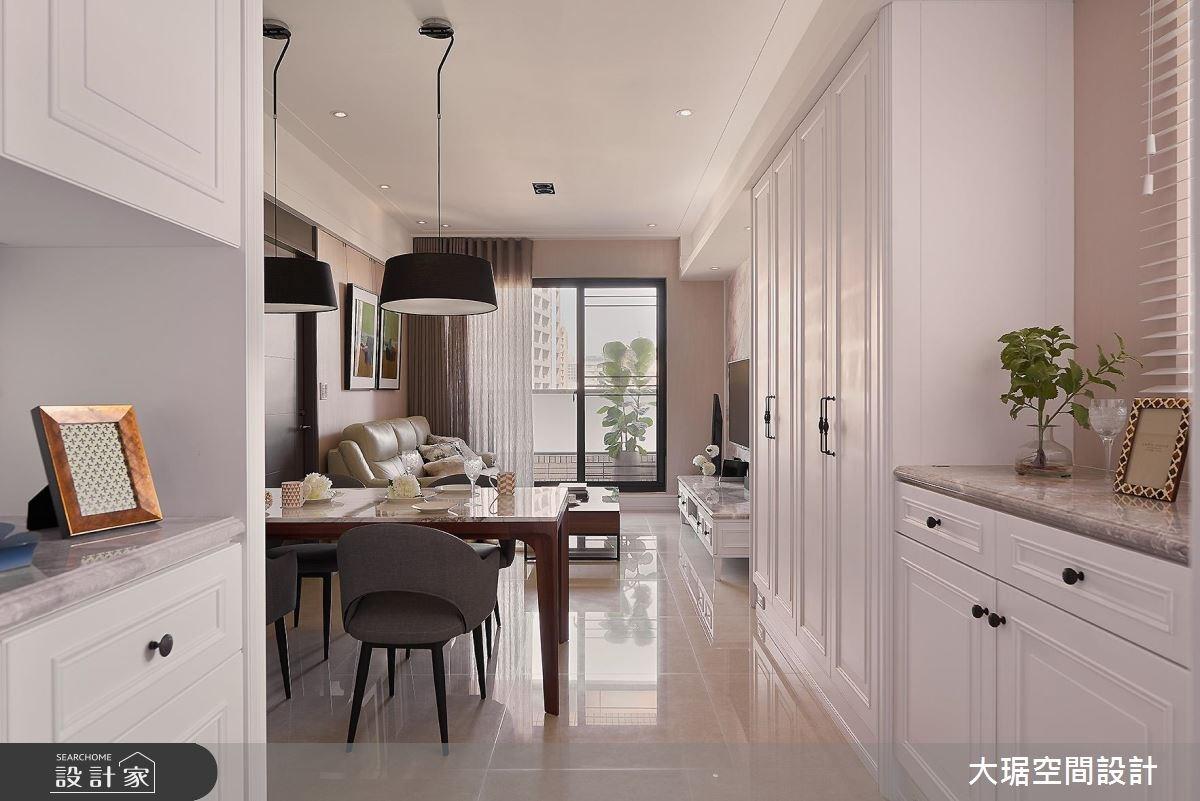 新成屋(5年以下)_新古典玄關客廳餐廳案例圖片_大琚空間設計_大琚_21之3