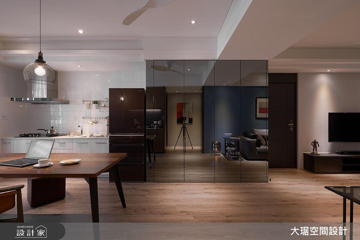 單身男居家生活提案 實現休閒質感的現代精品宅