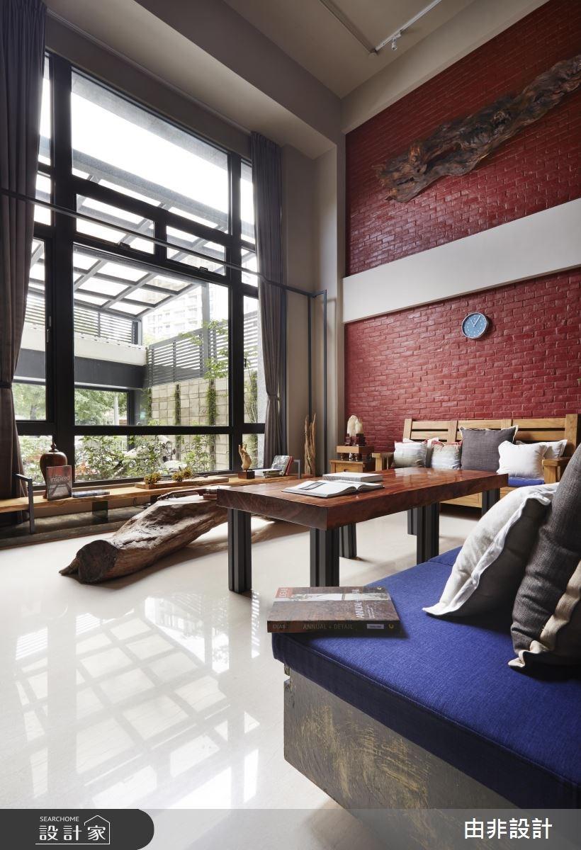 50坪新成屋(5年以下)_休閒風客廳案例圖片_由非設計有限公司_由非_12之4