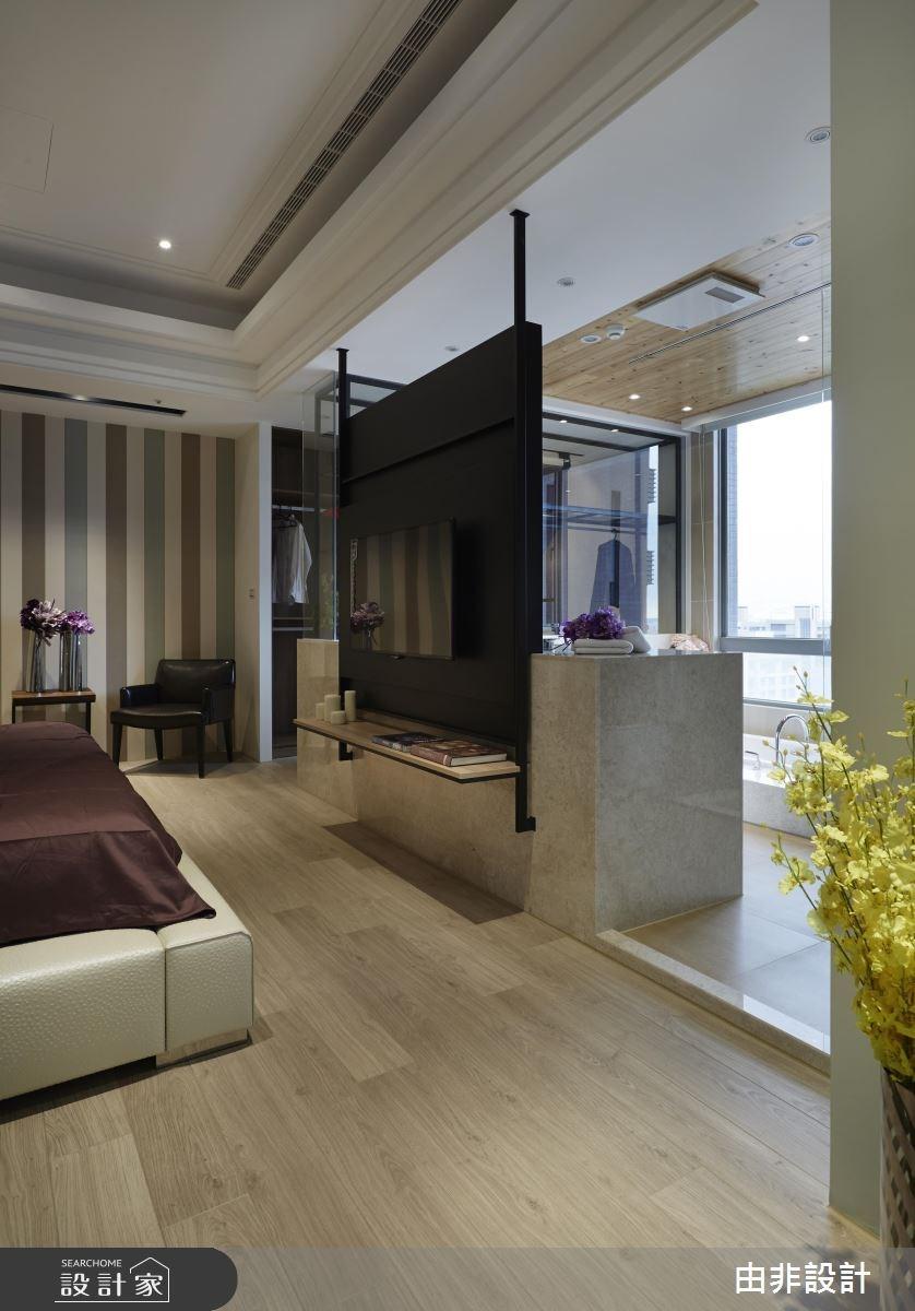 45坪_混搭風臥室更衣間浴室案例圖片_由非設計有限公司_由非_14之13