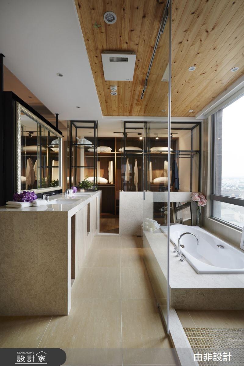 45坪_混搭風更衣間浴室案例圖片_由非設計有限公司_由非_14之14