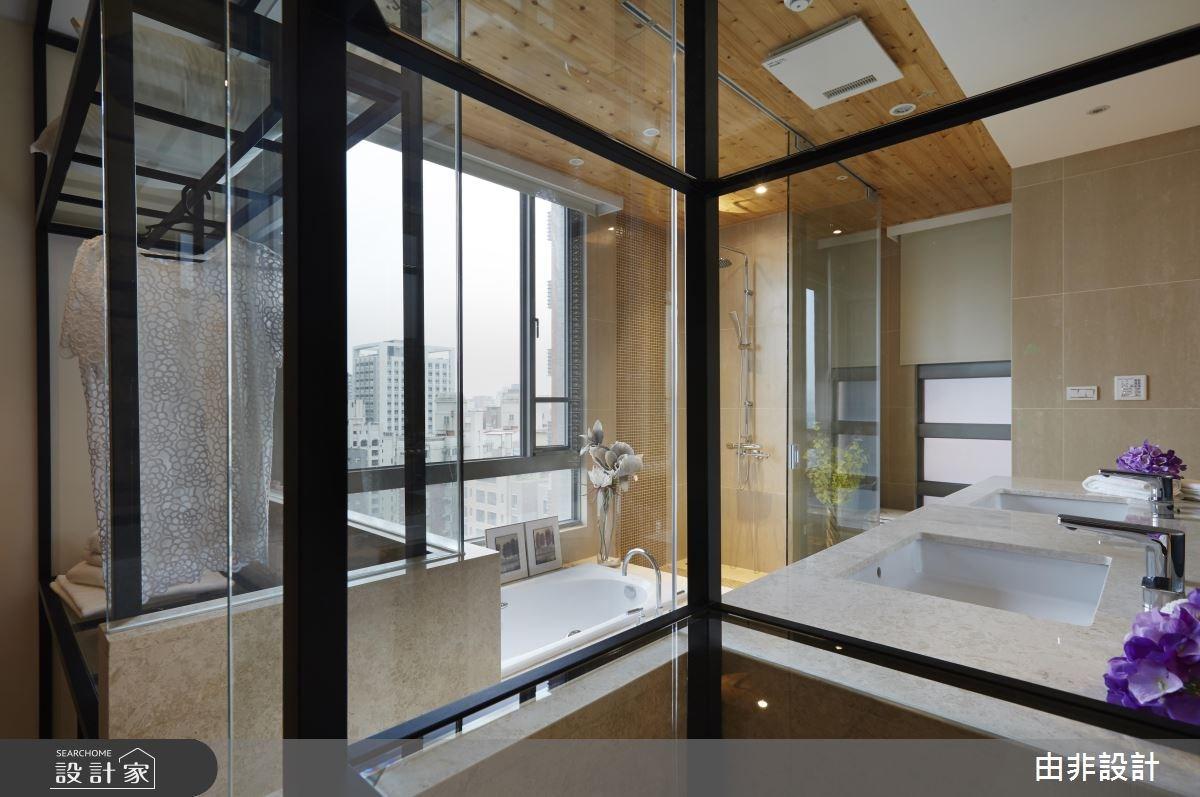 45坪_混搭風更衣間浴室案例圖片_由非設計有限公司_由非_14之15