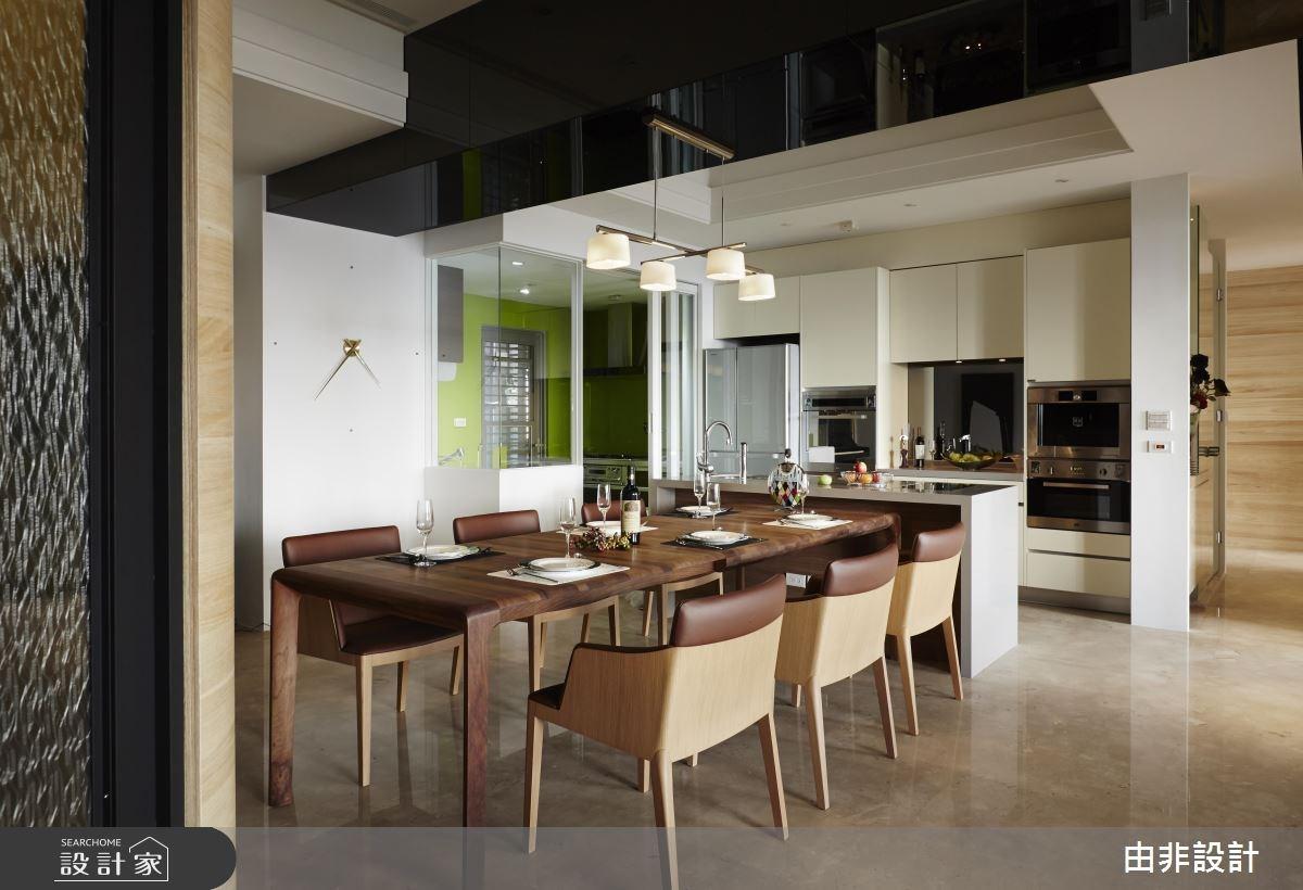 49坪_混搭風餐廳廚房案例圖片_由非設計有限公司_由非_16之11