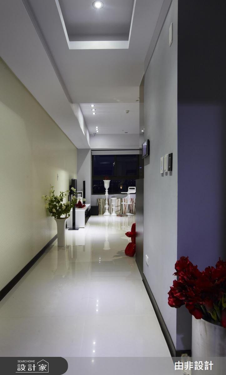 19坪_現代風玄關走廊案例圖片_由非設計有限公司_由非_17之1