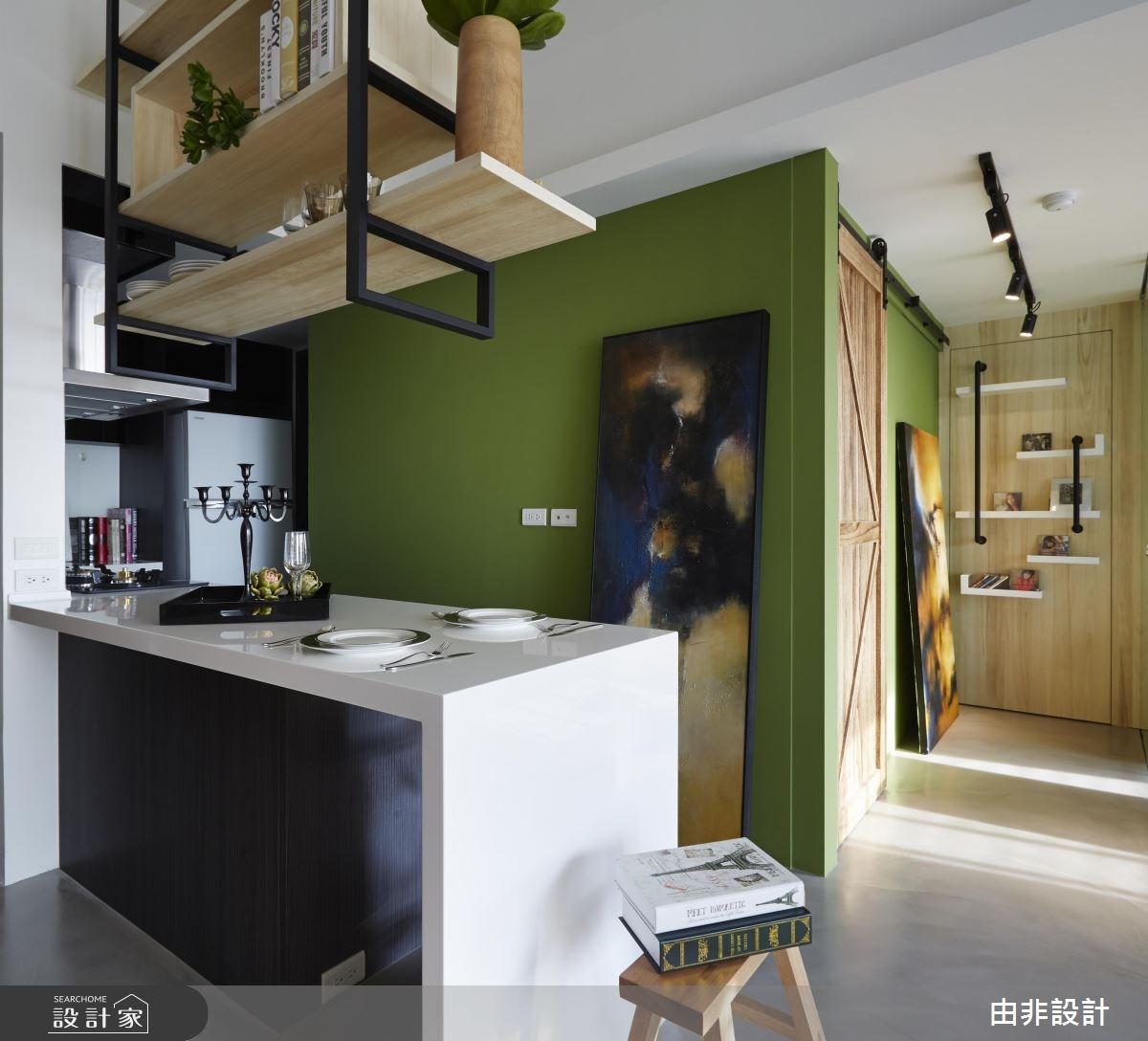 _工業風廚房吧檯案例圖片_由非設計有限公司_由非_20之4