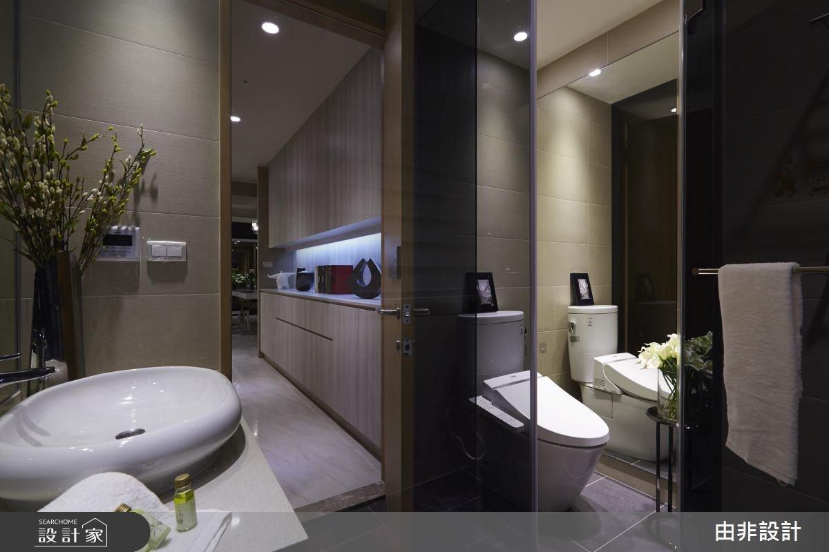 54坪_休閒風浴室走廊案例圖片_由非設計有限公司_由非_22之14