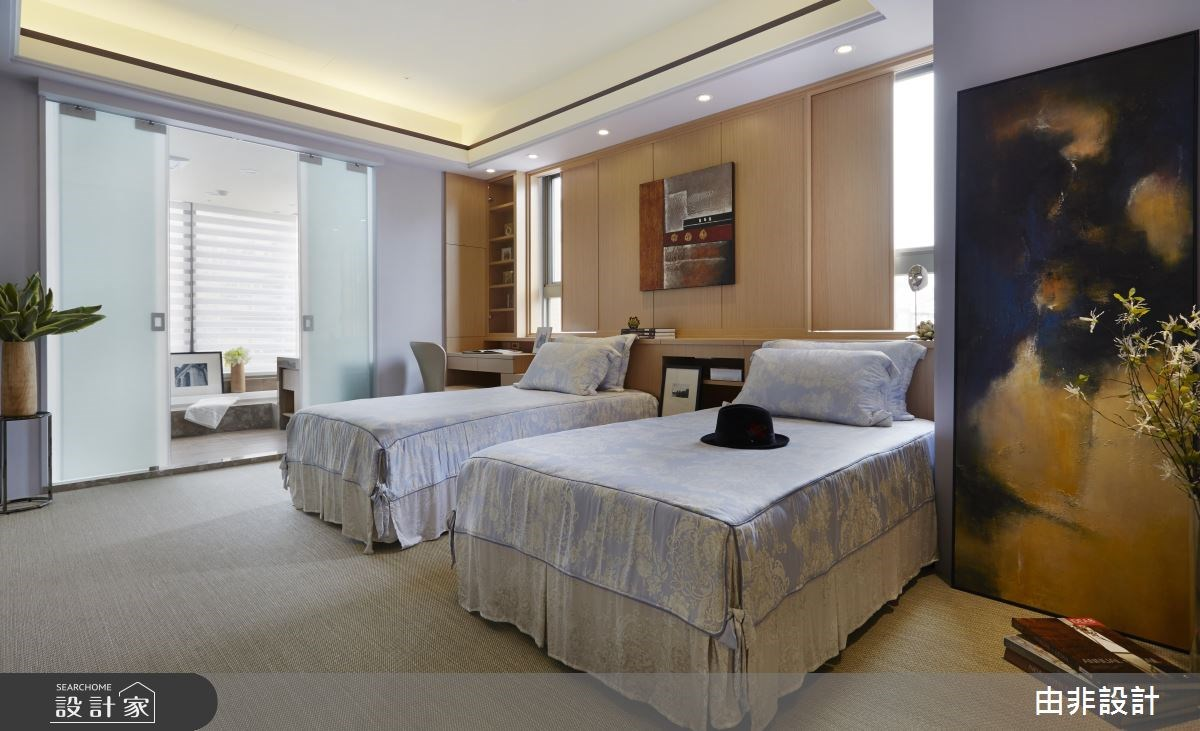 54坪_休閒風臥室浴室案例圖片_由非設計有限公司_由非_22之15