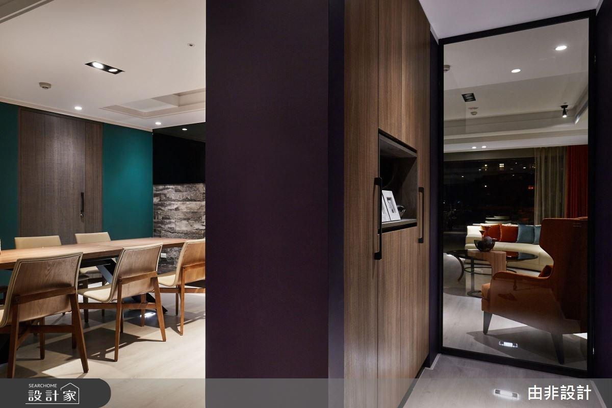 86坪中古屋(5~15年)_休閒風玄關客廳餐廳案例圖片_由非設計有限公司_由非_28之2