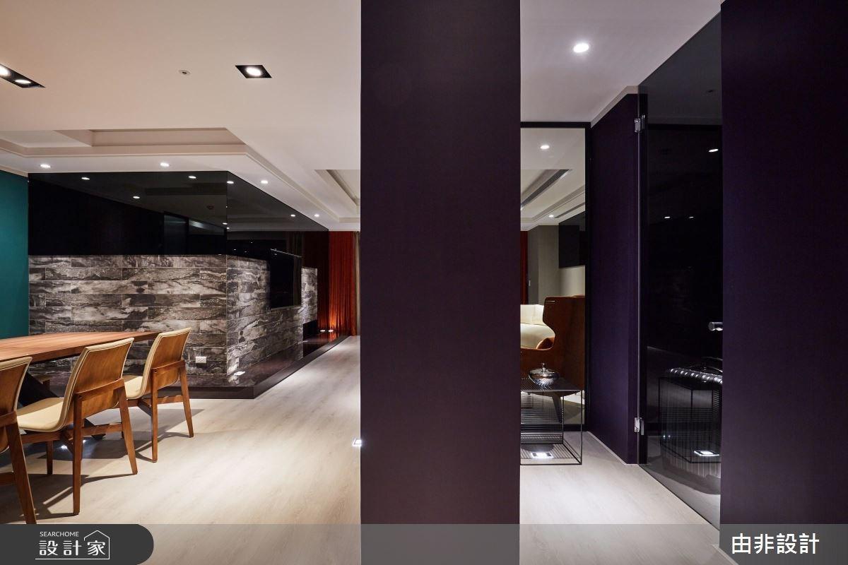 86坪中古屋(5~15年)_休閒風客廳餐廳走廊案例圖片_由非設計有限公司_由非_28之3