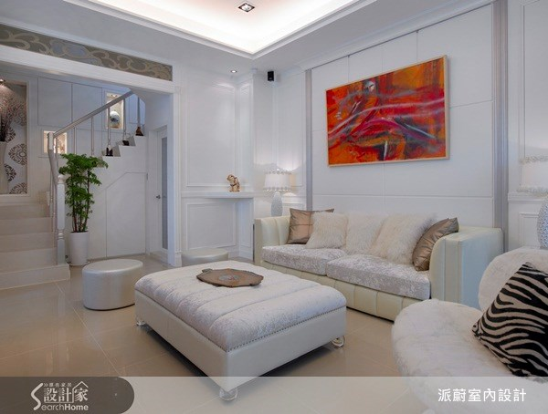 60坪新成屋(5年以下)_新古典案例圖片_派蔚室內設計_派蔚_08之4