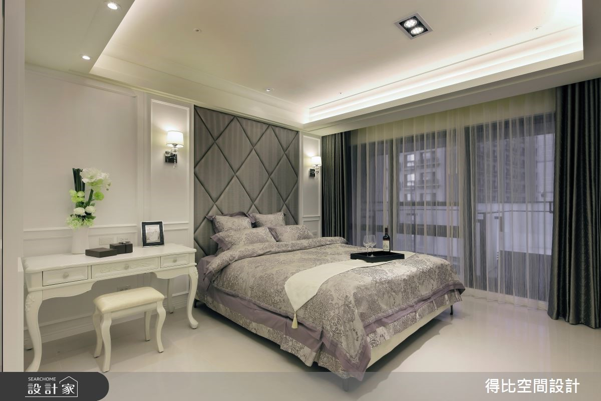 50坪新成屋(5年以下)_新古典臥室案例圖片_得比空間設計有限公司_得比_04之9
