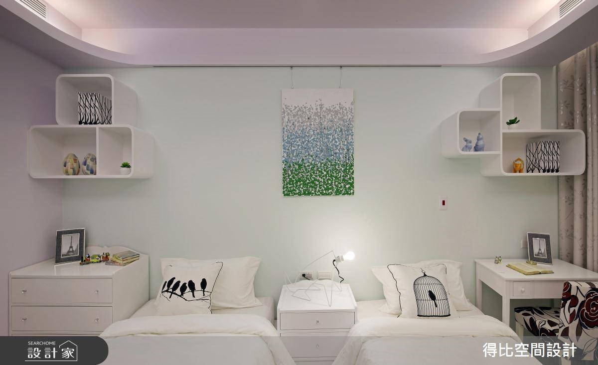 50坪新成屋(5年以下)_新古典臥室案例圖片_得比空間設計有限公司_得比_04之12