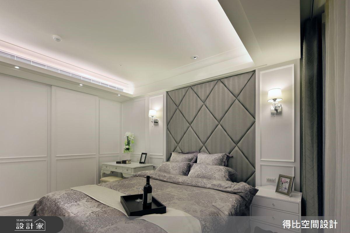 50坪新成屋(5年以下)_新古典臥室案例圖片_得比空間設計有限公司_得比_04之10