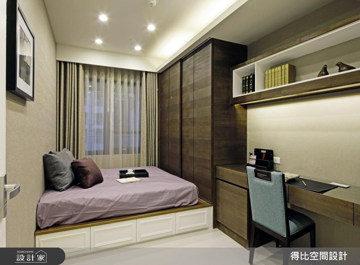 50坪新成屋(5年以下)_新古典臥室案例圖片_得比空間設計有限公司_得比_04之13