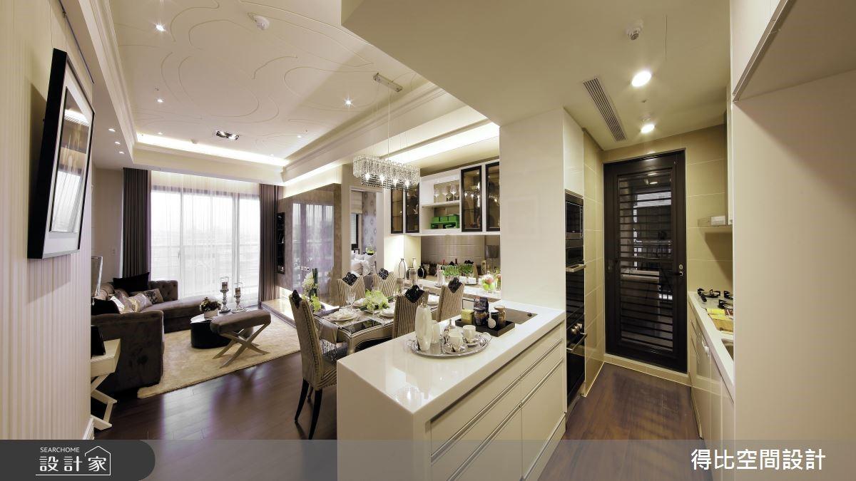 27坪新成屋(5年以下)_現代風廚房案例圖片_得比空間設計有限公司_得比_05之5