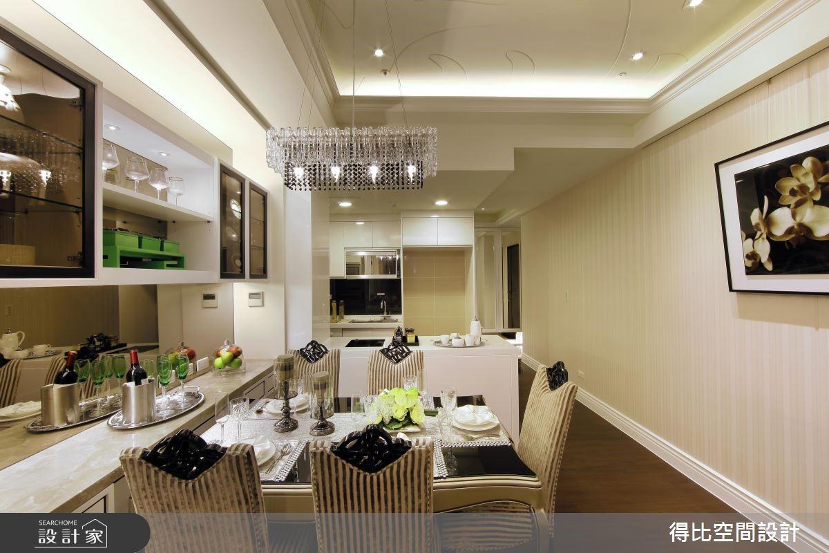 27坪新成屋(5年以下)_現代風餐廳案例圖片_得比空間設計有限公司_得比_05之6