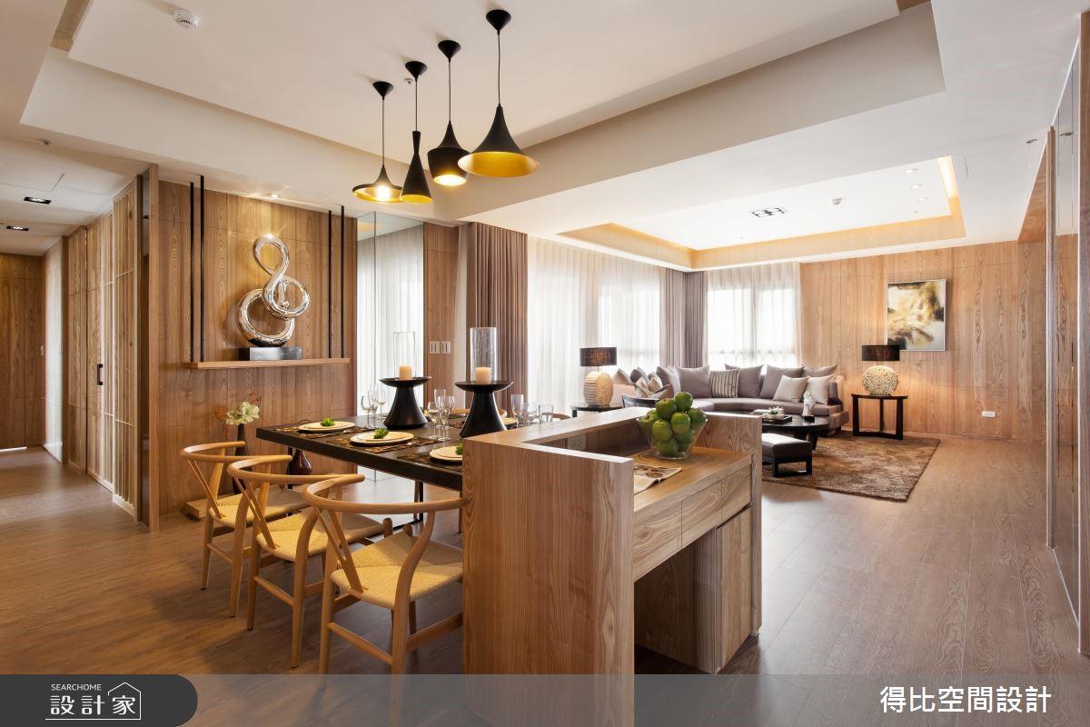 50坪新成屋(5年以下)_休閒風餐廳案例圖片_得比空間設計有限公司_得比_06之6