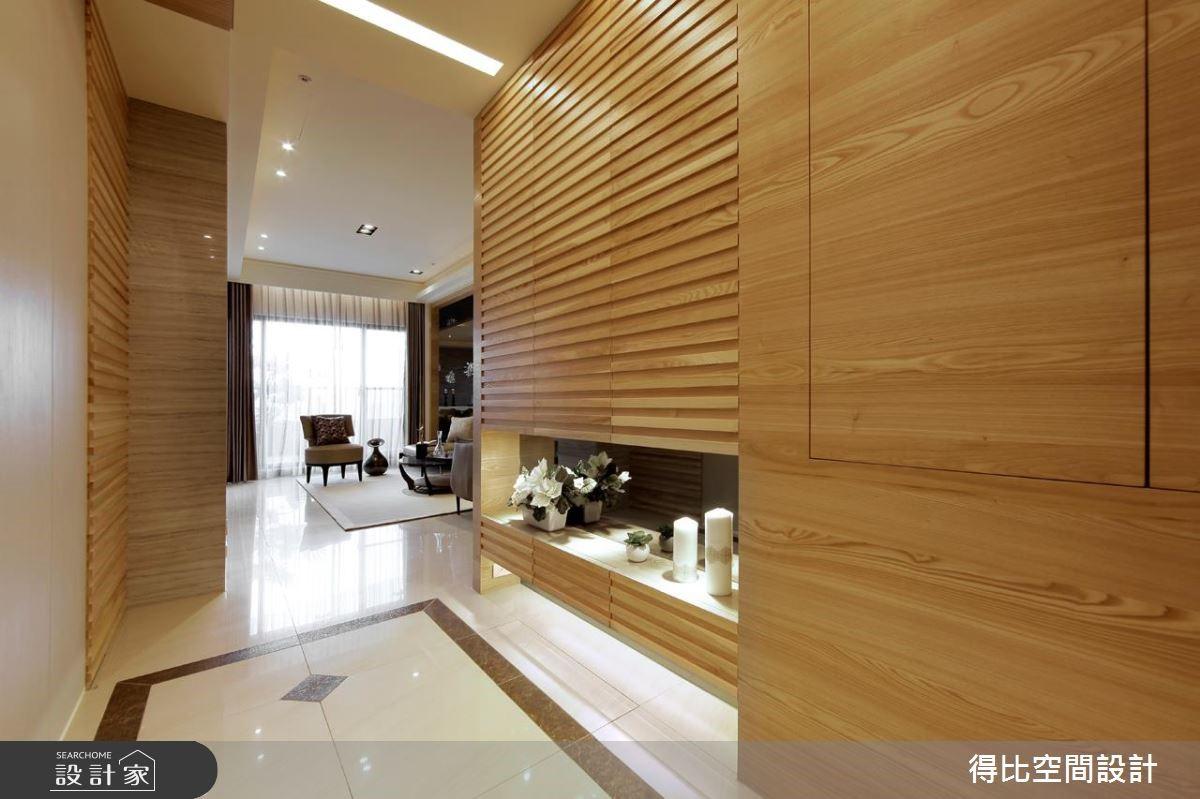 70坪新成屋(5年以下)_簡約風玄關案例圖片_得比空間設計有限公司_得比_11之1