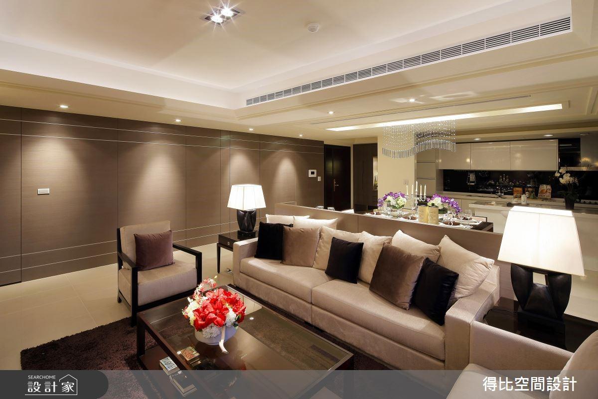 50坪新成屋(5年以下)_現代風客廳案例圖片_得比空間設計有限公司_得比_13之2