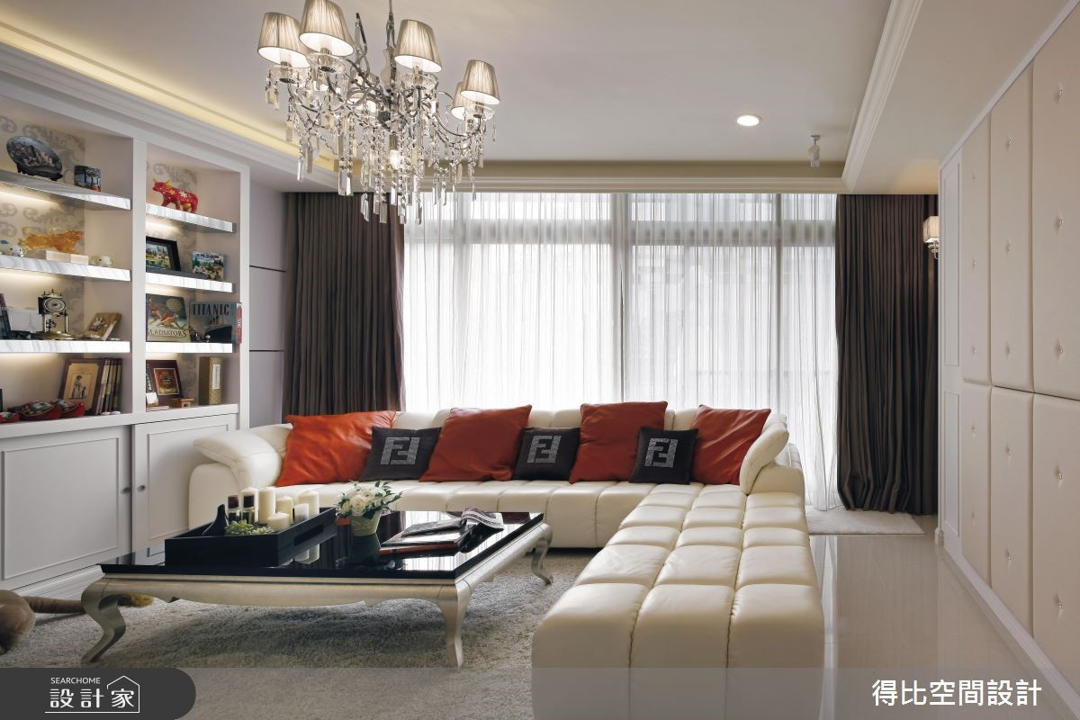 45坪老屋(16~30年)_現代風客廳案例圖片_得比空間設計有限公司_得比_14之4