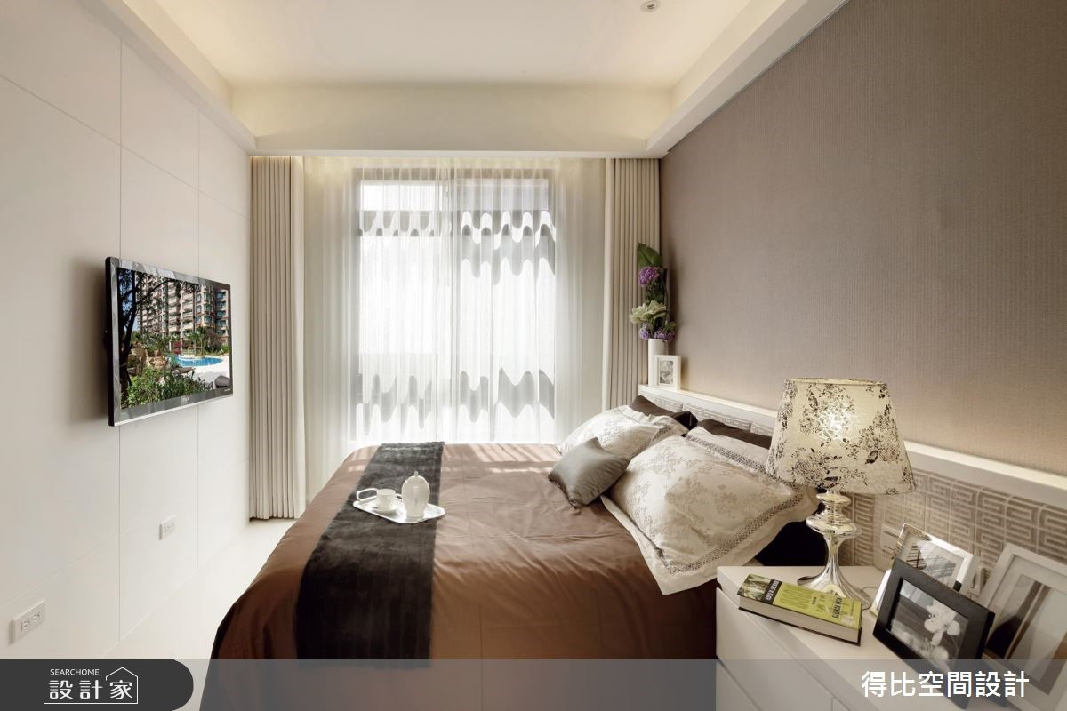 25坪新成屋(5年以下)_現代風臥室客房案例圖片_得比空間設計有限公司_得比_16之9