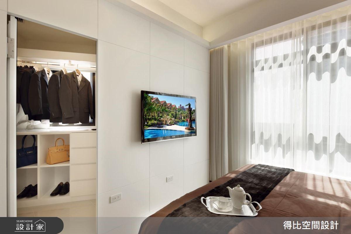 25坪新成屋(5年以下)_現代風更衣間案例圖片_得比空間設計有限公司_得比_16之11