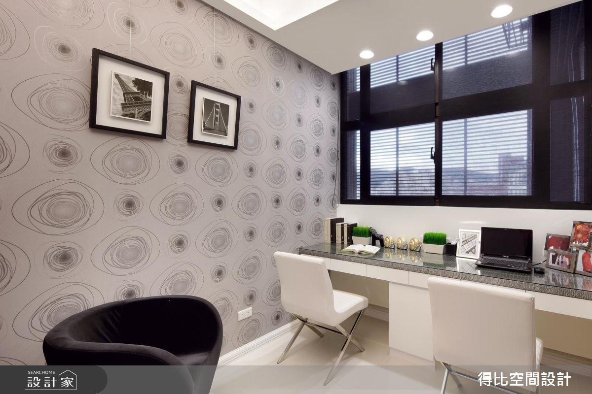 25坪新成屋(5年以下)_現代風書房案例圖片_得比空間設計有限公司_得比_16之7