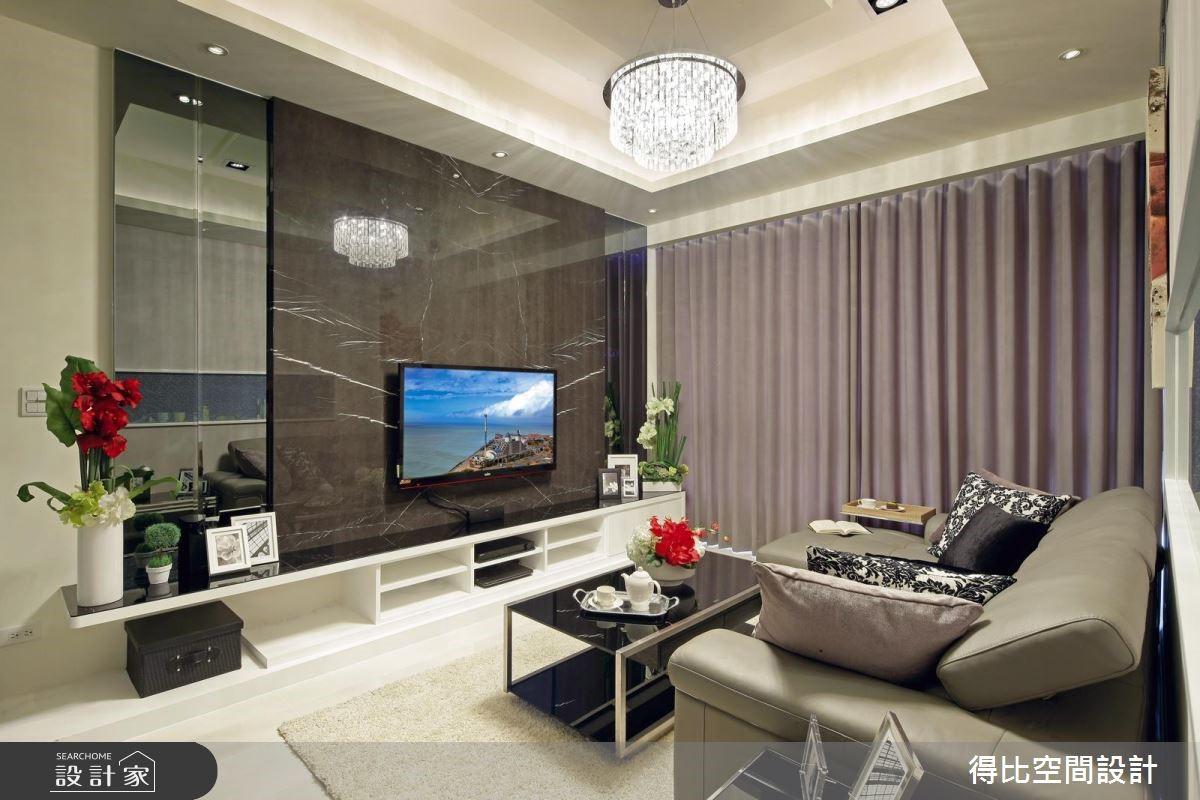 25坪新成屋(5年以下)_現代風客廳案例圖片_得比空間設計有限公司_得比_16之2