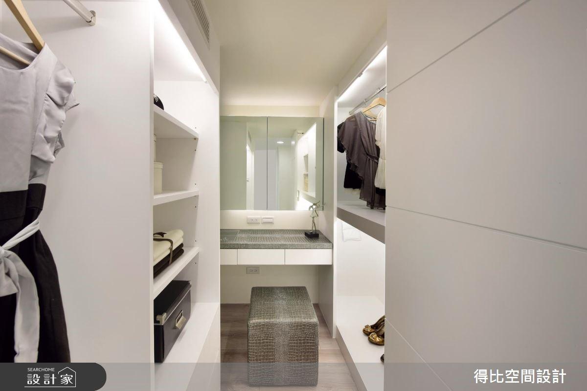 25坪新成屋(5年以下)_現代風更衣間案例圖片_得比空間設計有限公司_得比_16之13