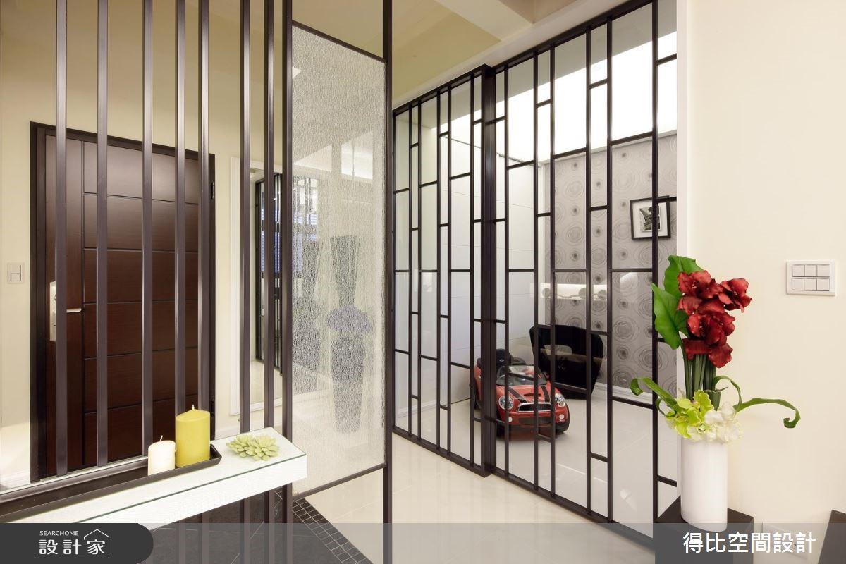25坪新成屋(5年以下)_現代風玄關案例圖片_得比空間設計有限公司_得比_16之5