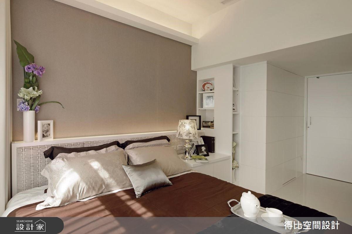 25坪新成屋(5年以下)_現代風臥室客房案例圖片_得比空間設計有限公司_得比_16之12