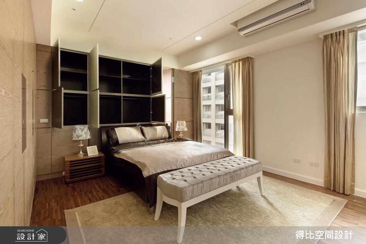 65坪新成屋(5年以下)_現代風臥室客房案例圖片_得比空間設計有限公司_得比_17之13