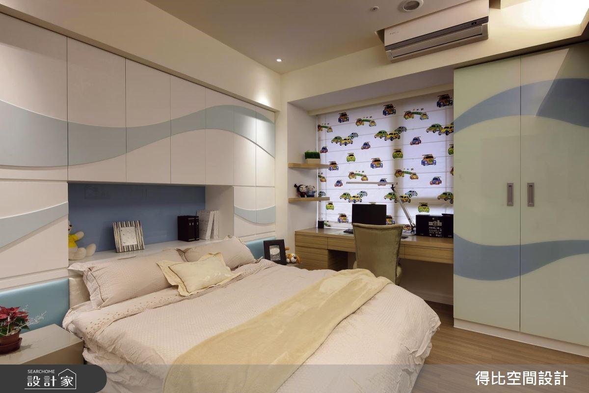65坪新成屋(5年以下)_現代風兒童房兒童房案例圖片_得比空間設計有限公司_得比_17之15