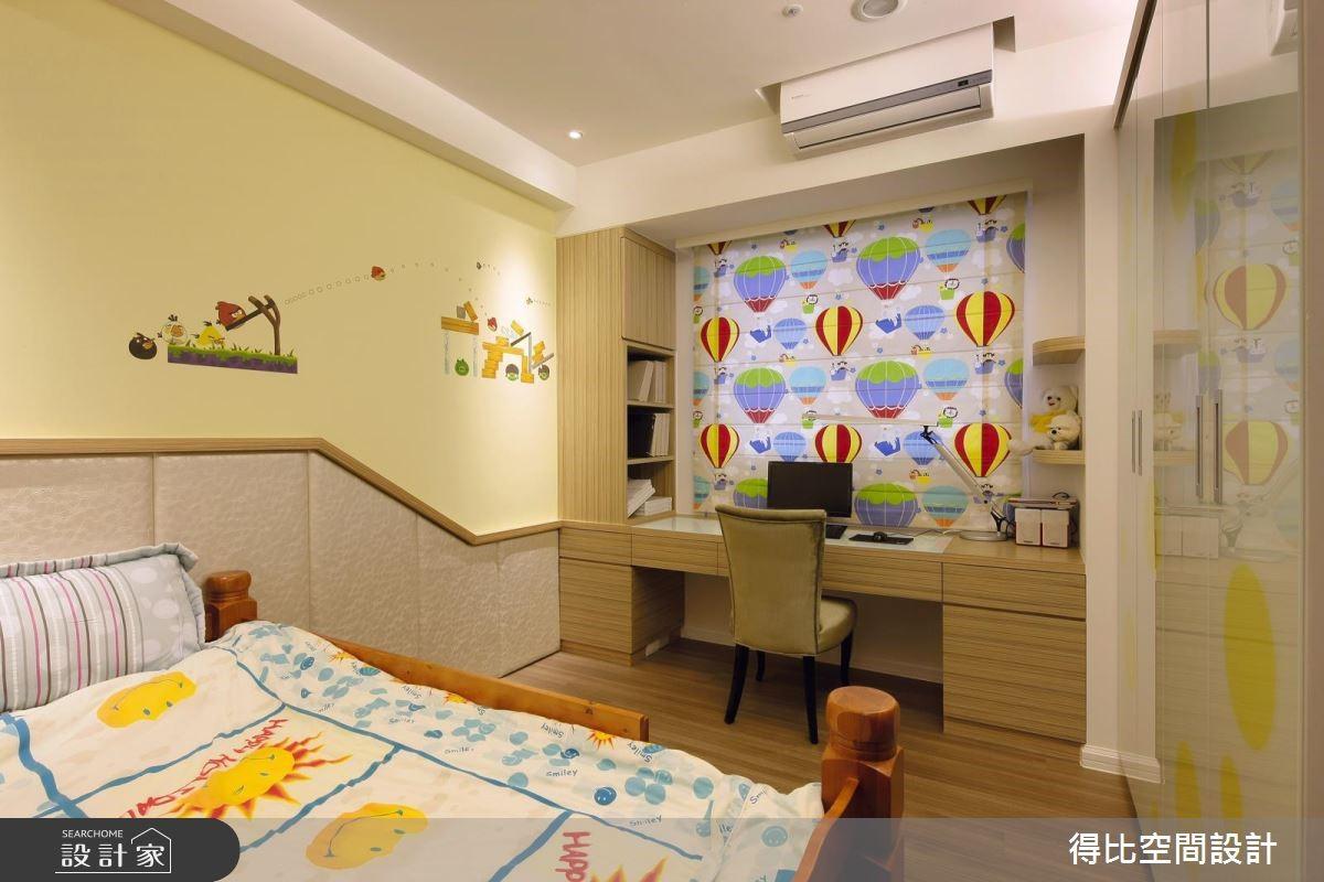 65坪新成屋(5年以下)_現代風兒童房兒童房案例圖片_得比空間設計有限公司_得比_17之14