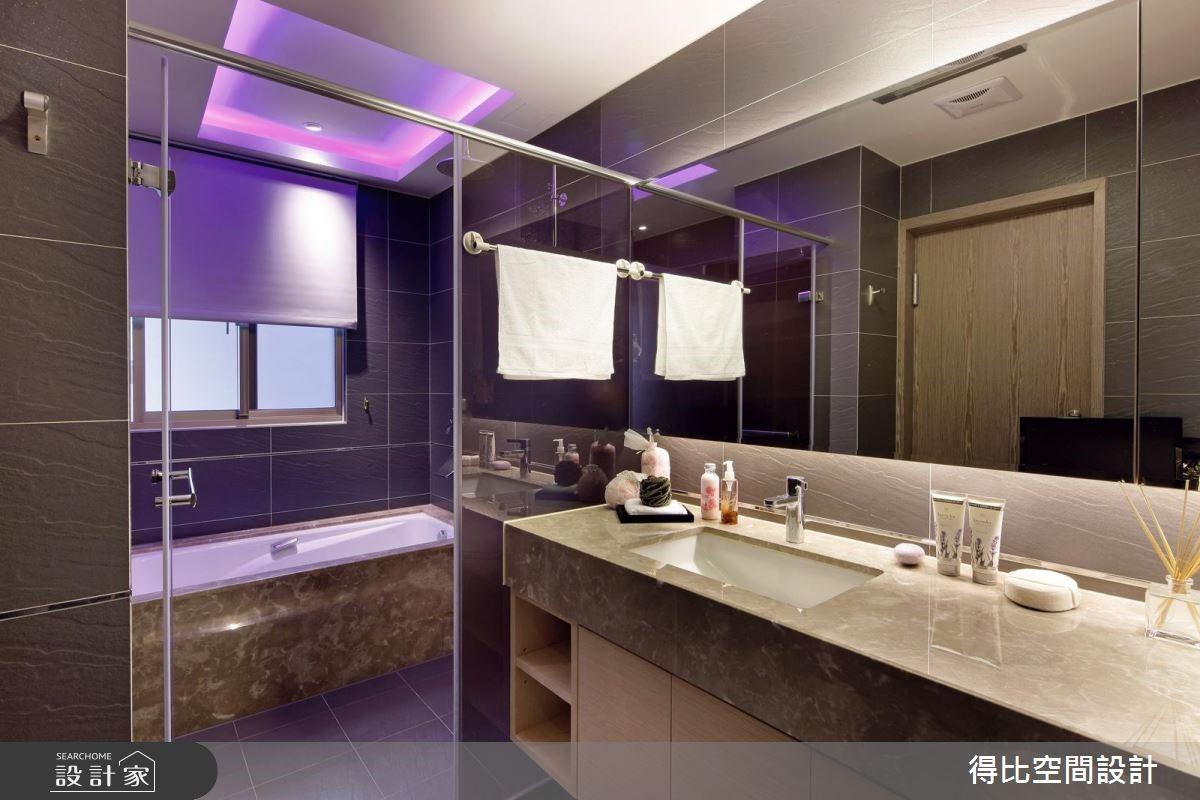 65坪新成屋(5年以下)_現代風浴室案例圖片_得比空間設計有限公司_得比_17之11