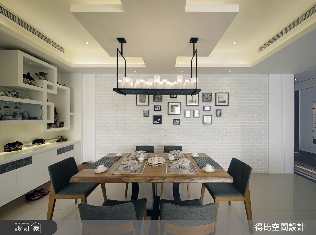 45坪新成屋(5年以下)_現代風餐廳案例圖片_得比空間設計有限公司_得比_20之3