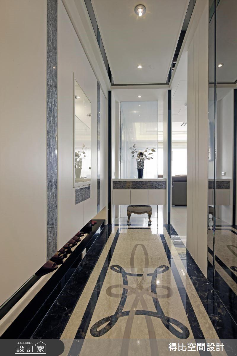 45坪新成屋(5年以下)_現代風玄關案例圖片_得比空間設計有限公司_得比_20之2