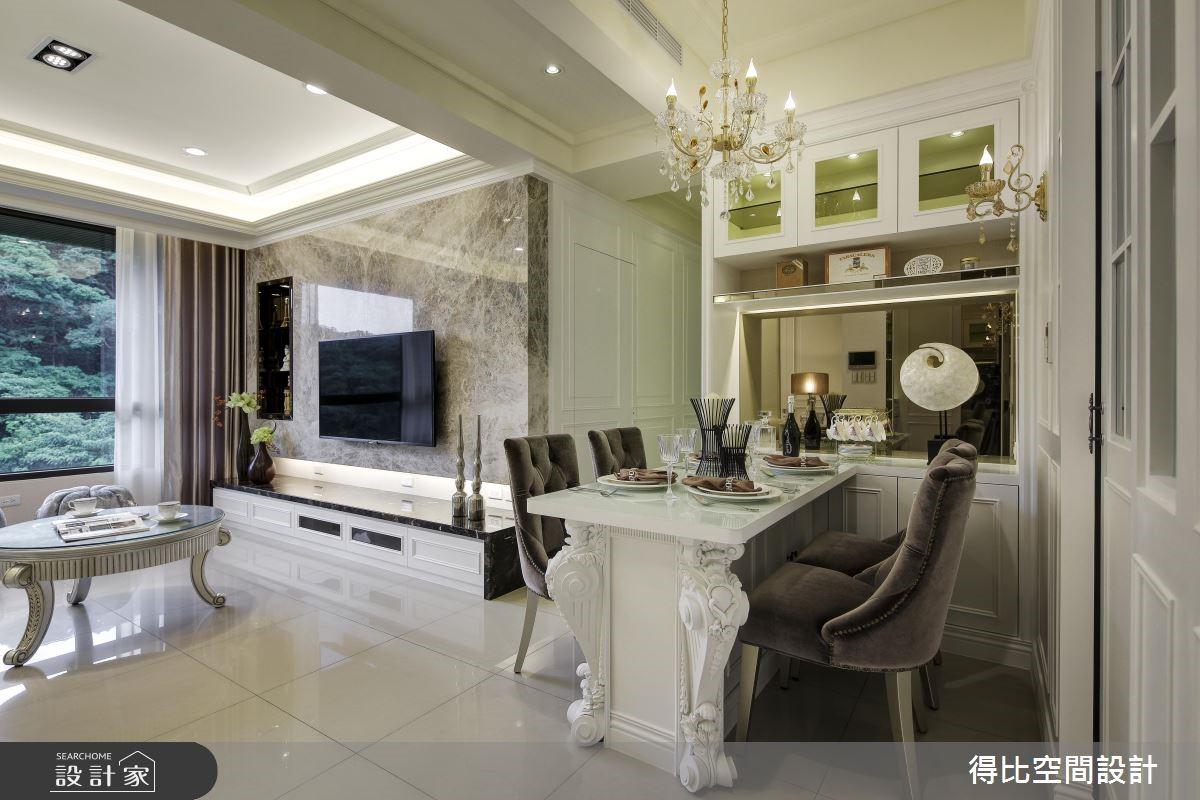27坪新成屋(5年以下)_新古典餐廳案例圖片_得比空間設計有限公司_得比_23之2
