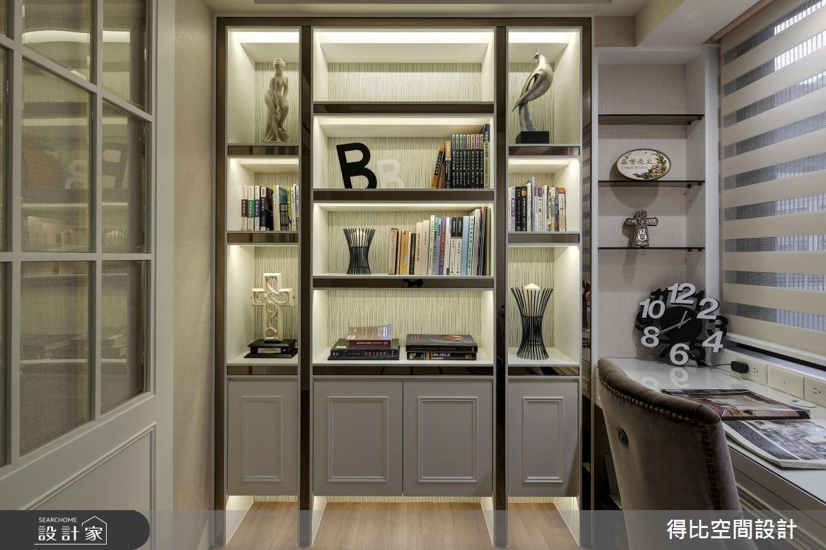 27坪新成屋(5年以下)_新古典書房案例圖片_得比空間設計有限公司_得比_23之16
