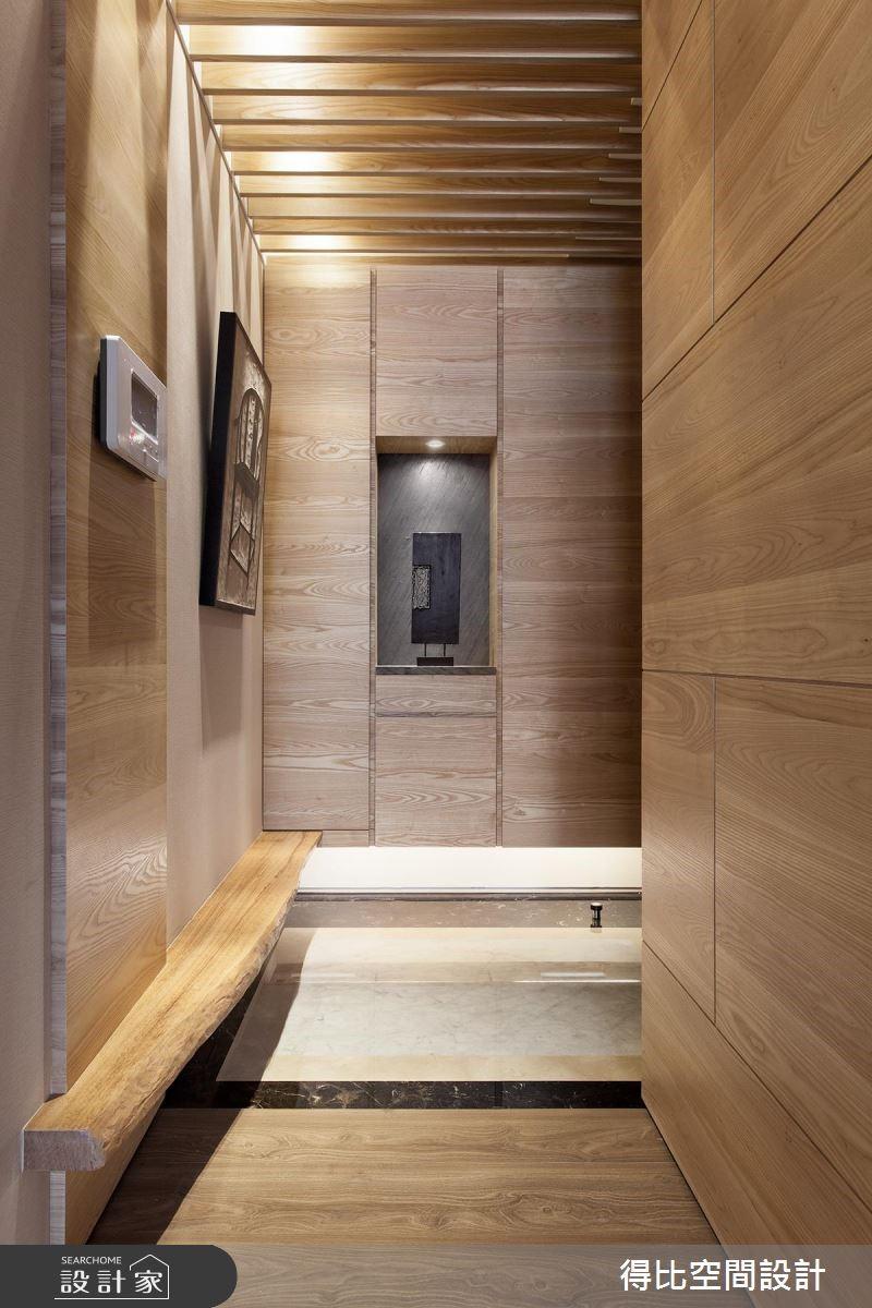 28坪新成屋(5年以下)_現代風玄關案例圖片_得比空間設計有限公司_得比_26之2