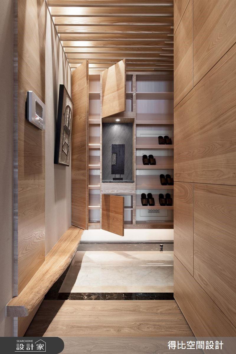 28坪新成屋(5年以下)_現代風玄關案例圖片_得比空間設計有限公司_得比_26之3