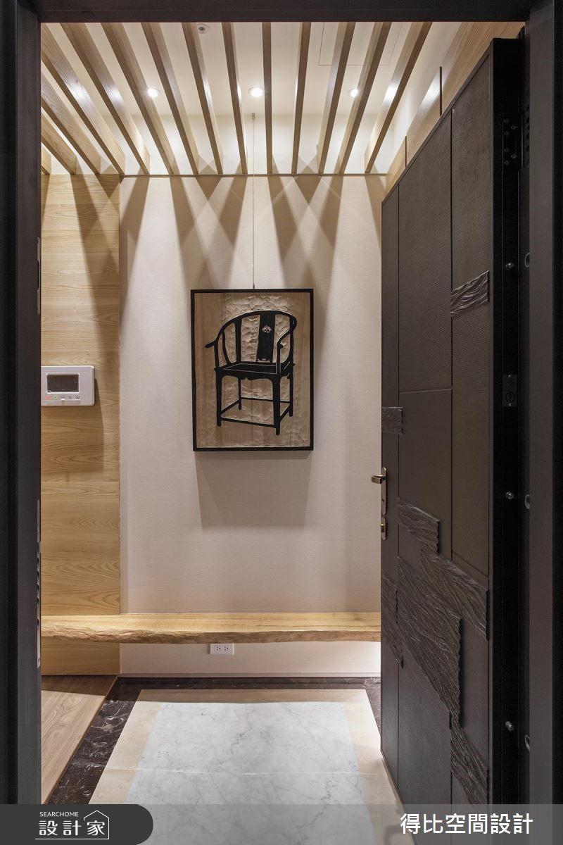 28坪新成屋(5年以下)_現代風玄關案例圖片_得比空間設計有限公司_得比_26之1