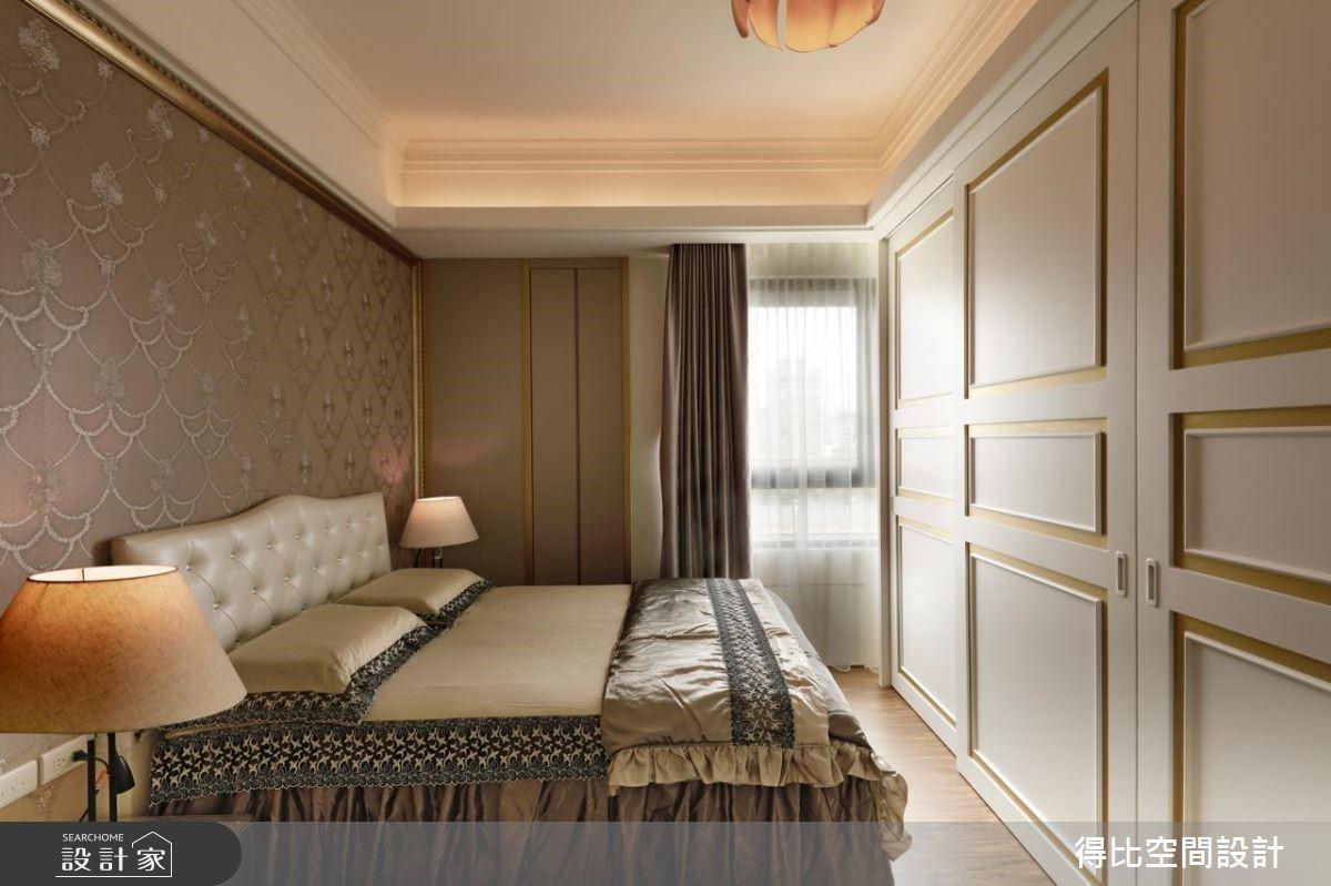 40坪新成屋(5年以下)_美式風臥室客房案例圖片_得比空間設計有限公司_得比_28之13