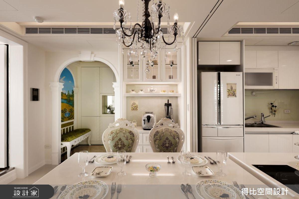 40坪新成屋(5年以下)_美式風餐廳案例圖片_得比空間設計有限公司_得比_28之7