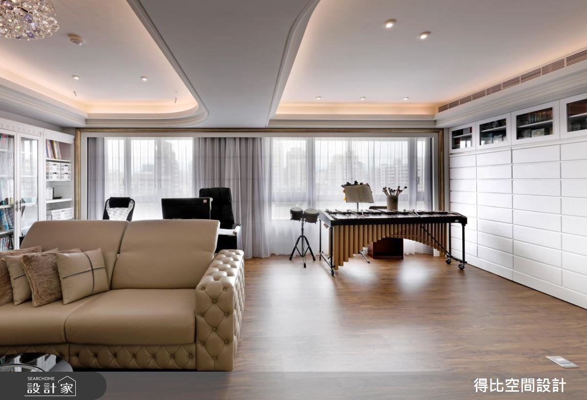 40坪新成屋(5年以下)_美式風案例圖片_得比空間設計有限公司_得比_28之4