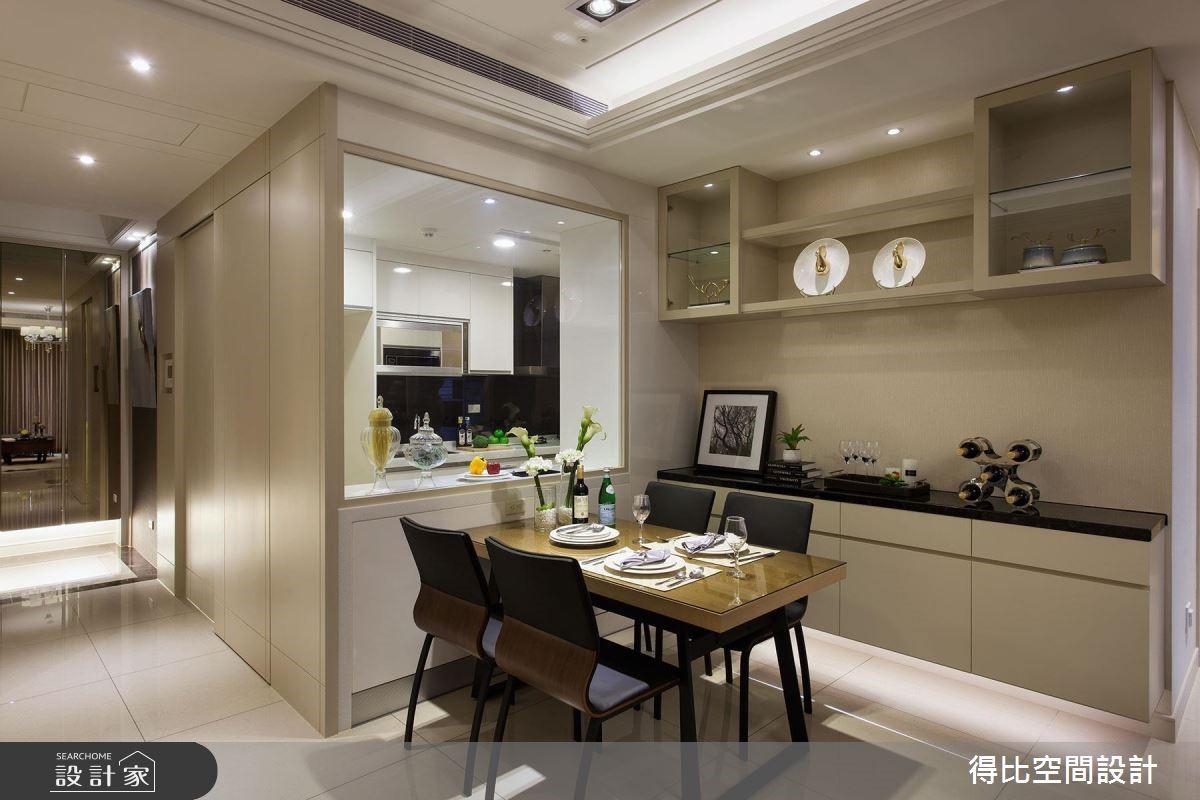 30坪新成屋(5年以下)_現代風餐廳案例圖片_得比空間設計有限公司_得比_29之2
