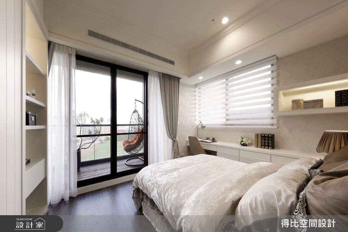 28坪新成屋(5年以下)_新古典臥室客房案例圖片_得比空間設計有限公司_得比_32之11