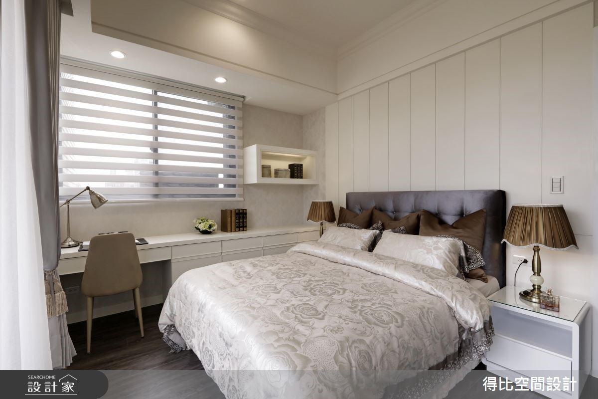 28坪新成屋(5年以下)_新古典臥室客房案例圖片_得比空間設計有限公司_得比_32之10